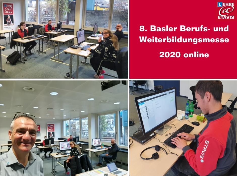 ETAVIS bei der Basler Berufs- und Weiterbildungsmesse 2020 online