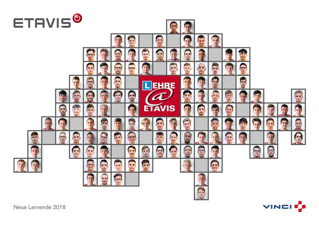 ETAVIS neue Lernende 2018