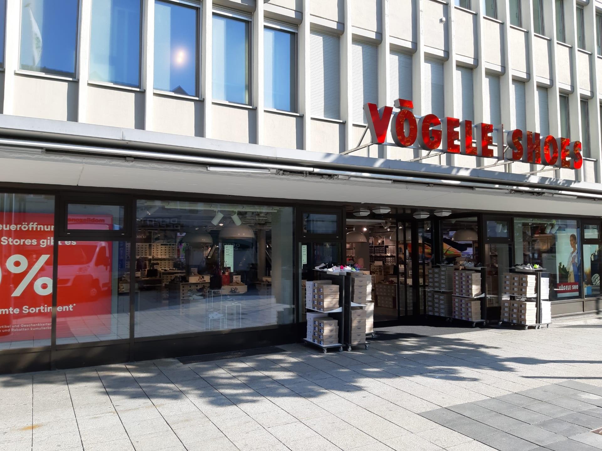 Der Flagship-Store von Vögele Shoes in Wil wurde von ETAVIS realisiert