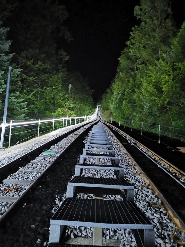Magglingenbahn bei Nacht_ETAVIS