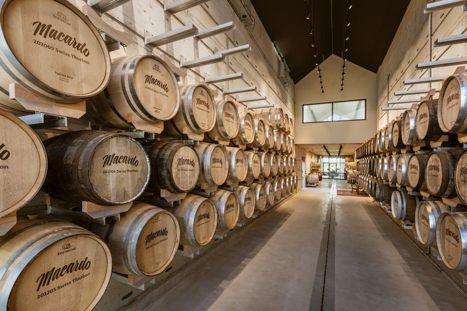 Macardo Destillerie Fasslager ETAVIS Projekt