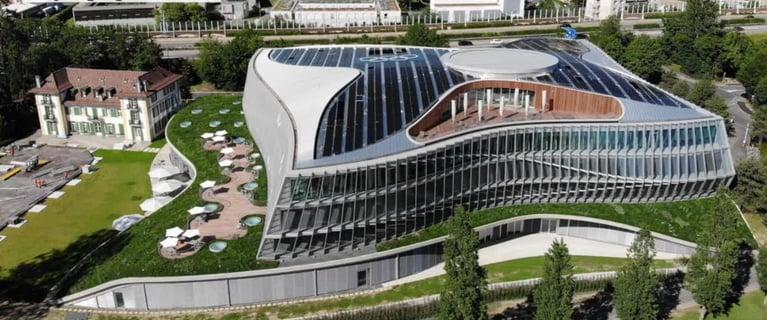 Beim Neubau des Hauptsitzes des Internationalen Olympischen Komitees war die ETAVIS für alle Elektroinstallationen zuständig