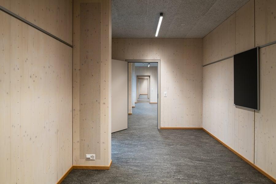 Copyright Juliet Haller Modulschulhaus Zürich Projekt Blumer-Lehmann AG und ETAVIS