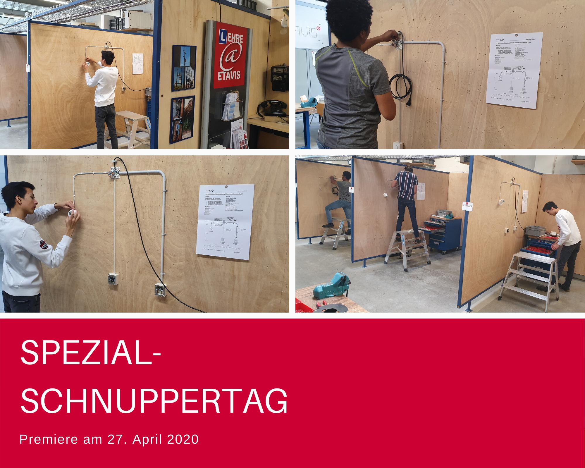 Spezial-Schnuppertag 27.04.20