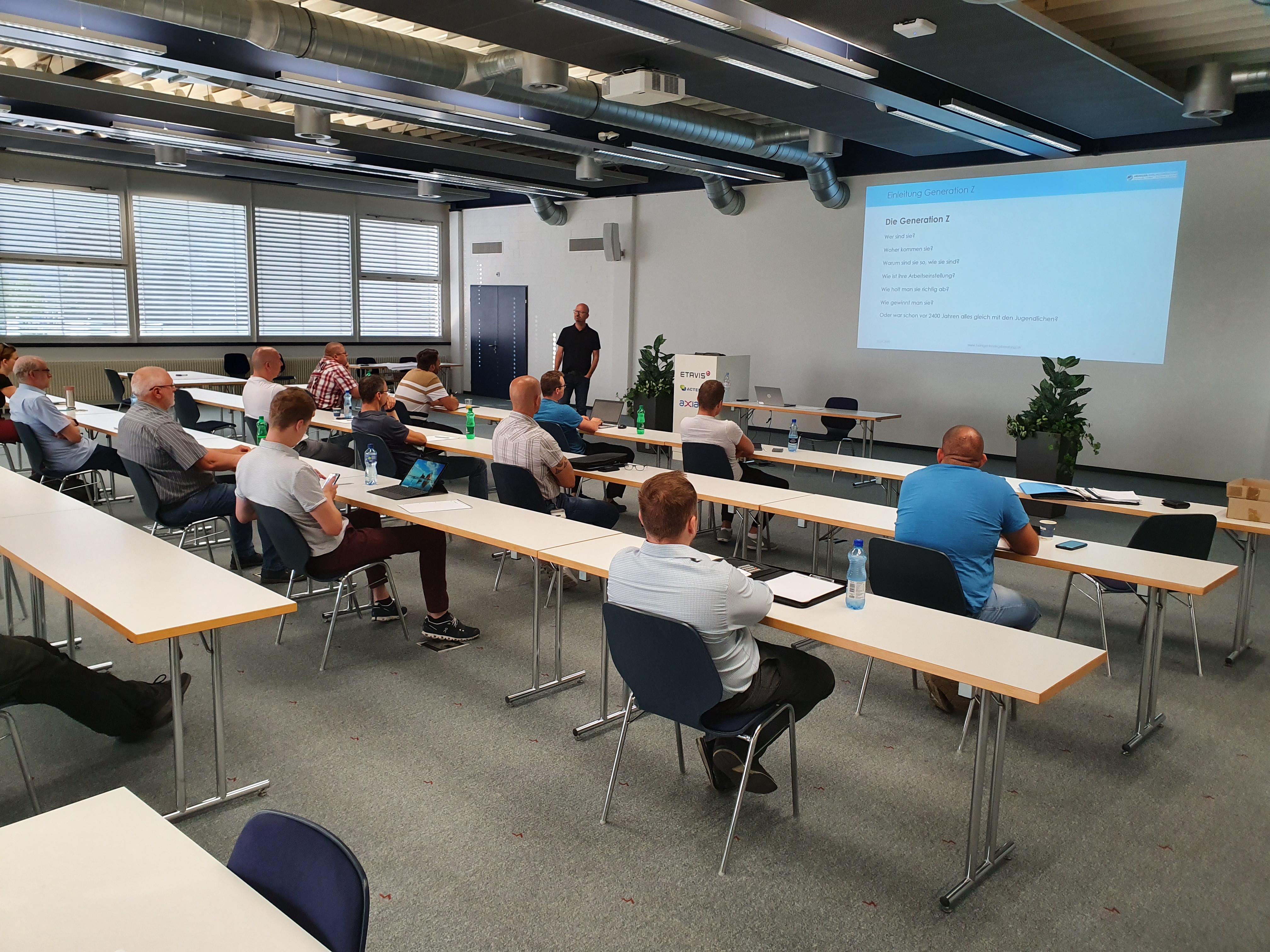 ETAVIS Berufsbildner Workshop: Neue Lernende abholen, begeistern & binden