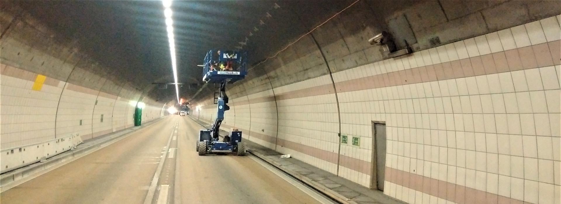 Sanierung der Umfahrungstunnel in Genf