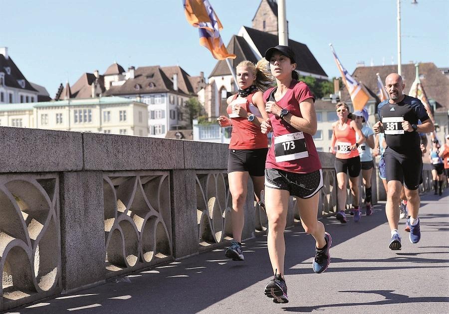 Sportliche Tradition: der Basler Bruggelauf