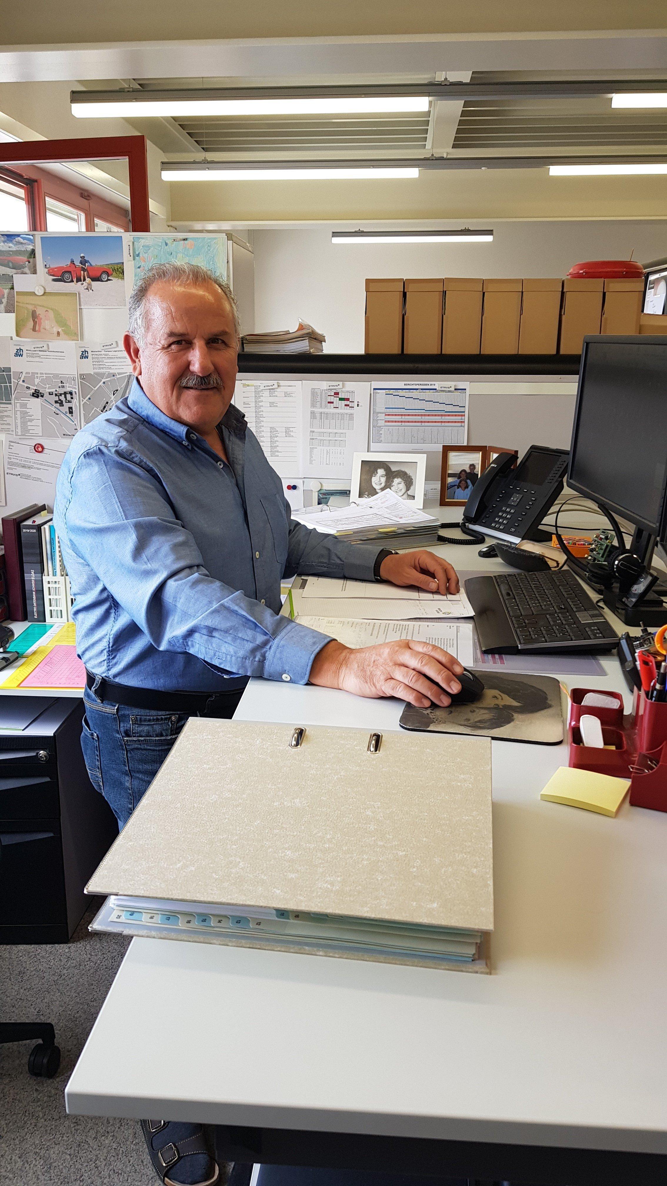 45 Jahre ETAVIS – Luigi Giannachi feiert Dienstjubiläum