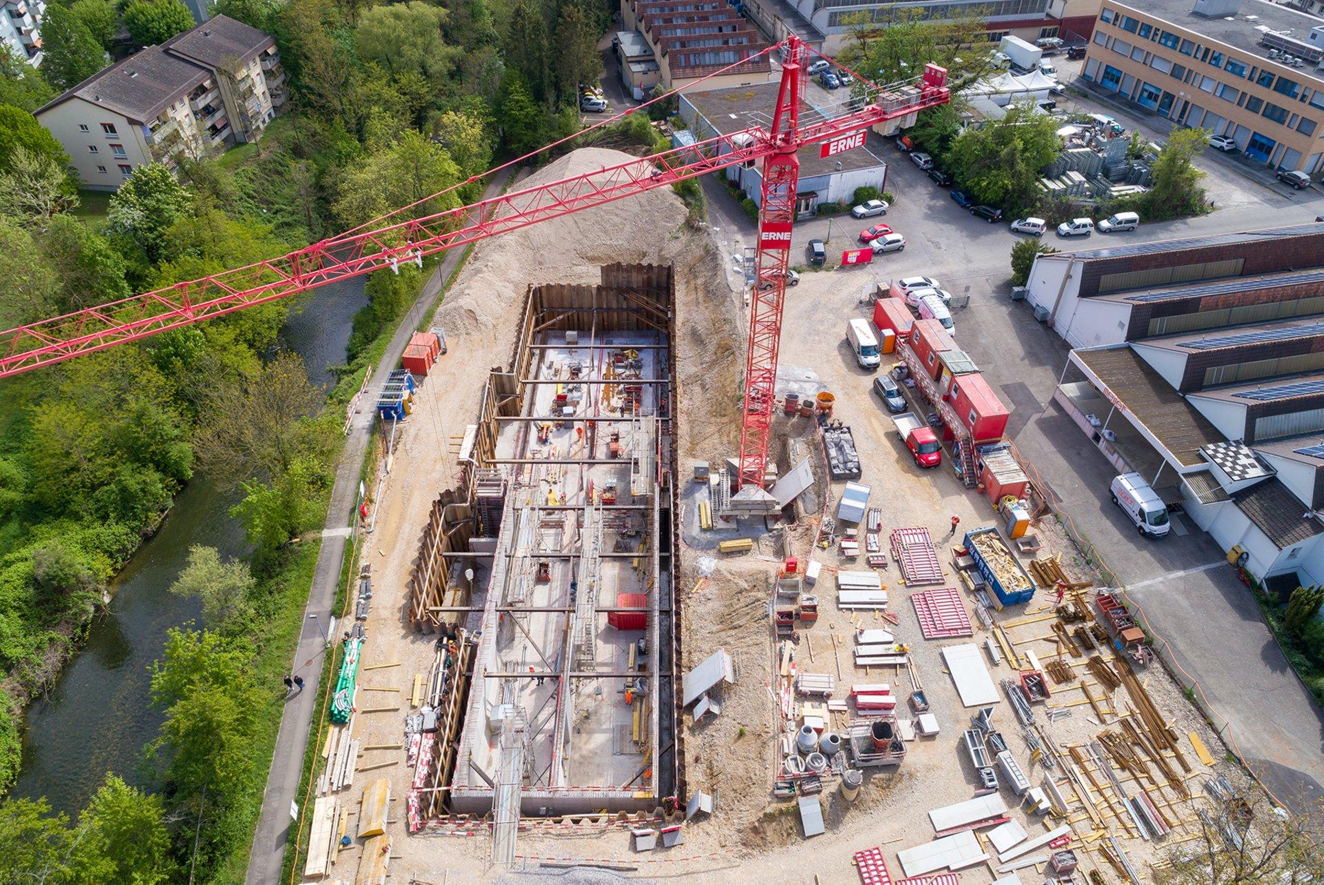 Unbacino di acque miste di classe extra a Weiermatt Liestal