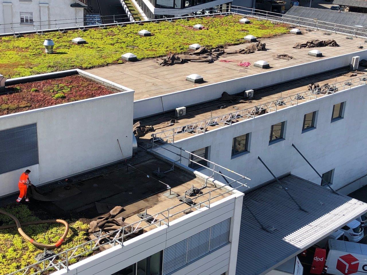 Eine eigene Photovoltaikanlage auf den Dächern der ETAVIS in Basel