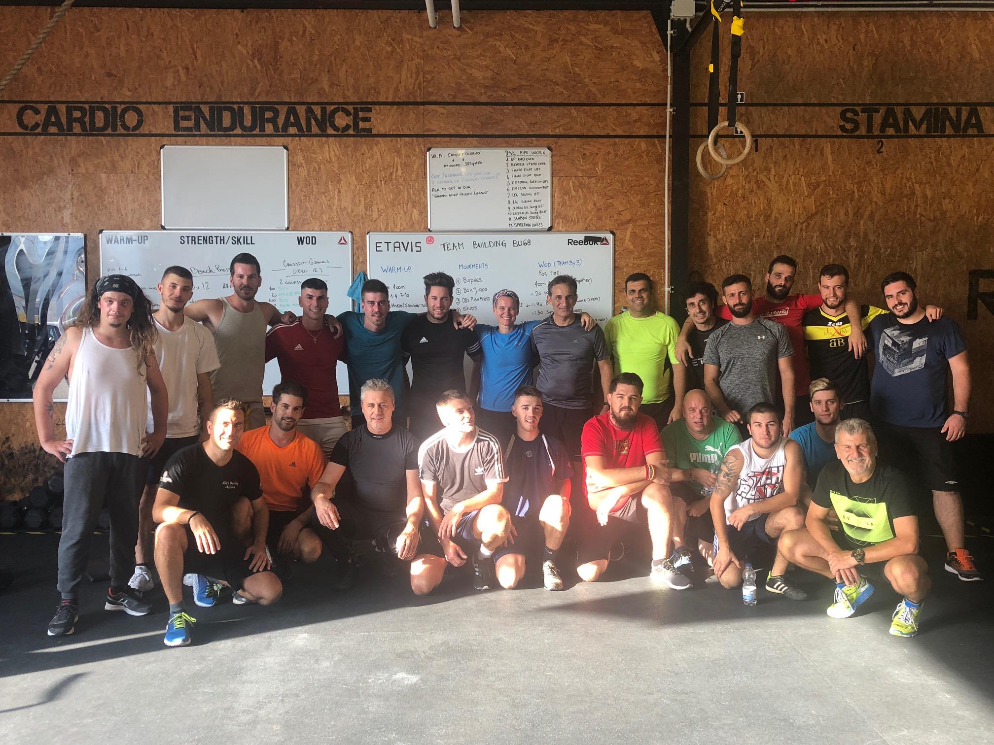 Sport verbindet! Rückblick auf unser CrossFit Teambuilding in Lugano
