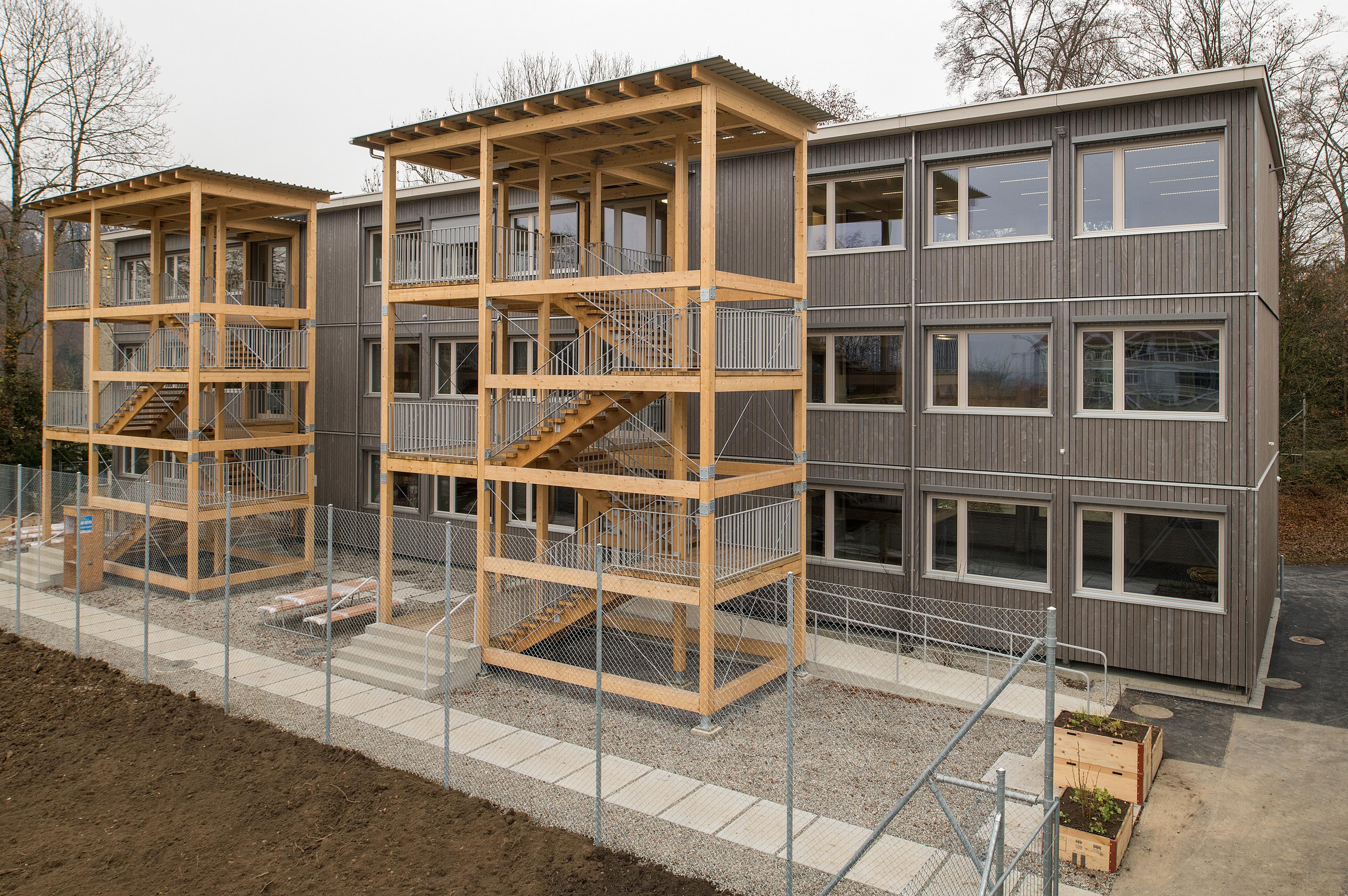 Projekt Modulschulhaus: Eine neue Schule in Rekordzeit