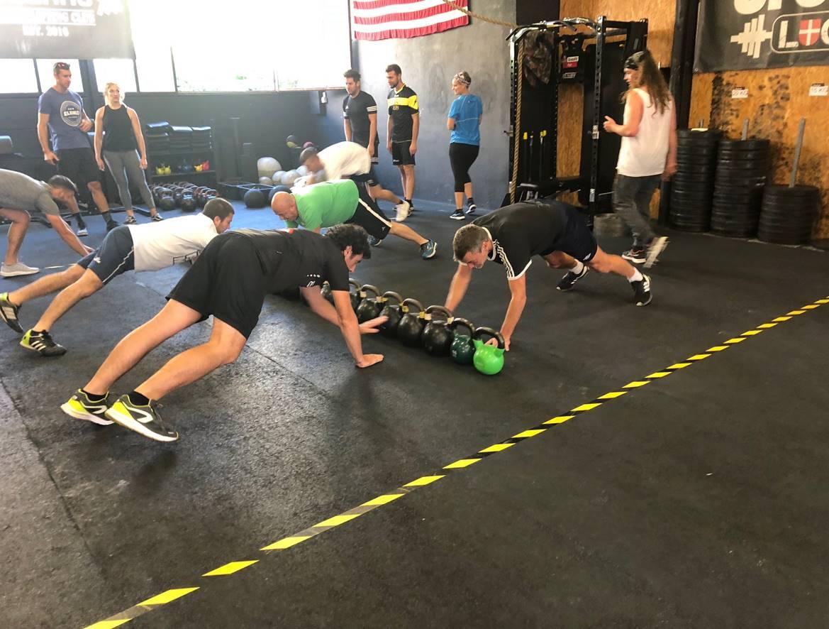 CrossFit ist ein Ganzkörper-Training